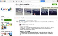 +Google comes to Google Canada Public, Canada, Weather, Internet, Amazing, Google