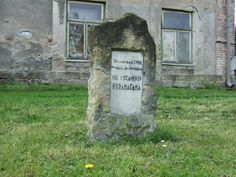 Kopidlno (distr.Jičín)- monument for died sowiet soldier in a last day of the II.WW