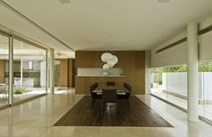 Dining-Area Country Club Residence by Migdal Arquitectos