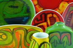 Poole Pottery 'Delphis' collection by H is for Home, via Flickr