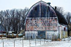 Minnesota barn.  King Midas Flour