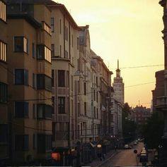 Midnight sun, Helsin