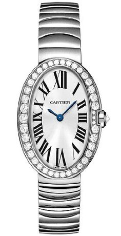 Cartier-WB520006-Baignoire-18k-White-Gold-Octagonal-Set-Diamonds-Womens-Watch-0
