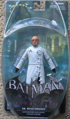 Batman Arkham City Hugo Strange Action Figure SDCC '13 COMICCON HOT EXCLUSIVE DC #DCComics