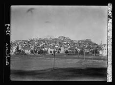 1935 / Şehre yaklaşmakta olan bir trenden Ankara manzarası