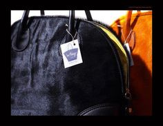 Milano bag made in hair on calf leather