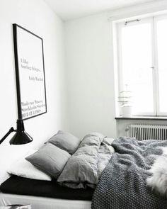 Bedroom greyscale