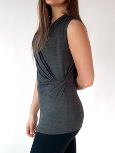 ba914e7a77d ELLA – Our Best-Selling Tunic Top Combines Style with Comfort (Charcoal)