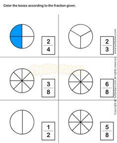 best fractions worksheets images  fractions worksheets st  fractions worksheet   math worksheets  grade worksheets fractions  worksheets grade