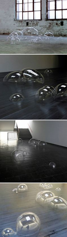installation work of German artist Luka Fineisen,