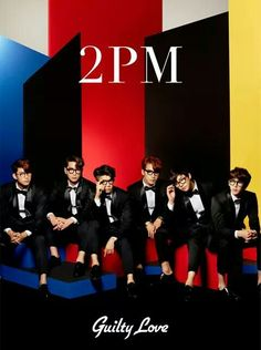 """2PM - 9th Japanese single """"Guilty Love"""""""
