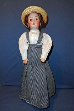 Simon Halbig 1159 Lady Doll 17 inches from sarabernsteindolls on Ruby Lane