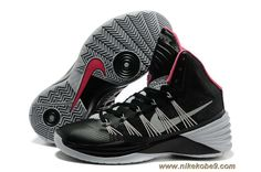 Nike Hyperdunk 2013 Black Grey Pink For Sale Kd 6 Shoes, Nike Kobe Shoes, New Jordans Shoes, Nike Shoes Cheap, Nike Shoes Outlet, Sneakers Nike, Cheap Nike, Free Shoes, Shoes Style
