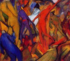 Albert Bloch [Estados Unidos 1882\1961] > Untitled\Infernal Figures.