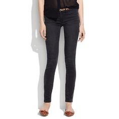 Legging Jeans in Cyclone Wash >> Madewell  30% off online today + free shipping