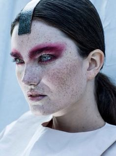 INGRIDA GRIGALYTE BEAUTY inspirations: lips, eyes, skin, colors, face, hair, nails, makeup, skin. ETC, 2014. Superior Magazine