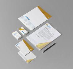 Mockup - Cartão de visita; Envelope Saco; Envelope Ofício; Papel Timbrado;