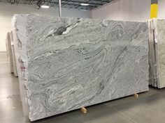 Our Viscont White Granite slabs. Made it Italy. More pictures to follow. Will have Ebony wood floors and Ivory White Cabinets.