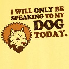 Only Speaking to My Cairn Terrier Funny Novelty by Ravenchicstudio, $17.99