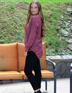 The perfect oversized sweater made for leggings.
