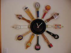Beer Tap Wall Clock | eBay