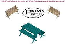 Folding Picnic Table / Bench Plans