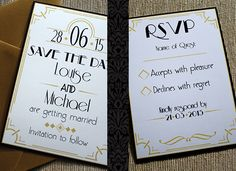 The Great Gatsby: How to pull off an art deco themed wedding