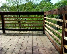 Horizontal Deck Rail