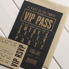 This classy Bar Mitzvah invitation is printed on @Luscious Verde Cards 's ultra-thick museum board for a luxe-feel.