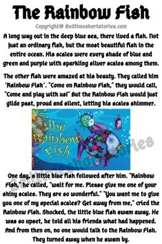 This is one of the best moral stories to read for kids online. Full story in the link above, click to read now.