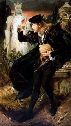 PEDRO AMÉRICO  Visão de Hamlet, 1893, Pinacoteca do Estado de São Paulo