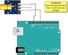 KY-008 Laser Module Arduino Tutorial