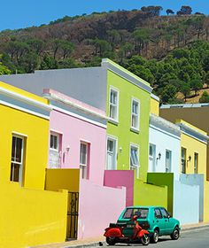 Worlds Most Colorful Cities: Bo-Kaap, Cape Town. I want to go back!! I love Cape Town.