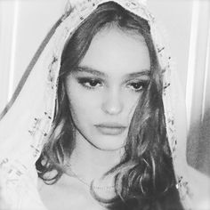 """Lily Rose Depp in """"Chanel Virgin Mary"""" Creds: Lily Rose Depp Style, Lily Rose Melody Depp, Lily Rose Depp Chanel, Vanessa Paradis, Lys Rose, Lily Depp, Star Wars, Arte Popular, Girl Crushes"""