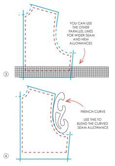 Grading Rulers and French Curves - The Cutting Class | Patternmaking for Fashion Design | How to Draft Sewing Patterns | Pattern Fitting | How to Design Sewing Patterns
