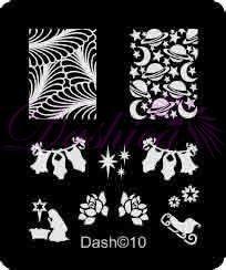 Dashica Image Plate - Dash 10