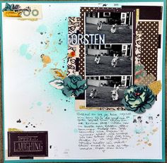 Life of Julia: Försten 12x12 scrapbook process