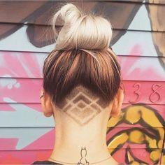 Astonishing Hidden Hair Tattoo Ideas!