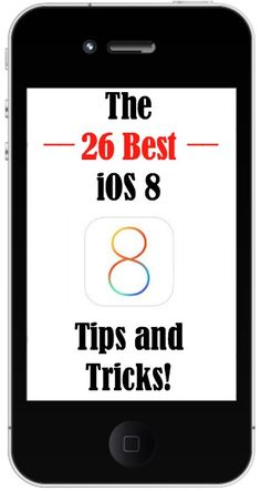 The 26 Best iOS 8 Tips and Tricks!  http://www.wonderoftech.com/ios8/