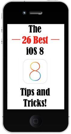 The 26 Best iOS 8 Tips and Tricks! http://www.wonderoftech.com/ios8/