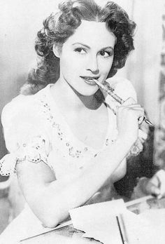 Esther Fernandez famous Mexican actress in the 30's