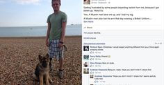 Chris Herbert, who lost a leg in Iraq in 2007, has published a powerful Facebook post aimed at anyone who thinks he's anti-Muslim.