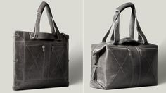 amazing bag design.  functional and elegant, my two favorite things.