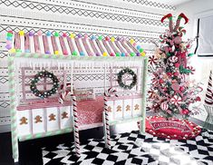 A Christmas wonderland!🎄🎅🏼 What a beautiful and magical way to make Christmas extra special this year. Are you decorating your kid spaces… Christmas Wonderland, Kid Spaces, Boy Room, Santa, Holiday Decor, How To Make, Kids, Rooms, Decorating