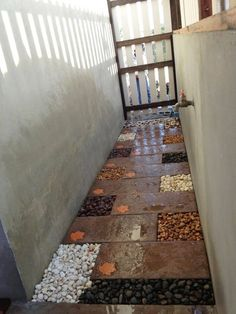 Idea for washing area or dog's shower area