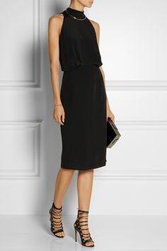 Tamara Mellon|Silk halterneck dress|NET-A-PORTER.COM
