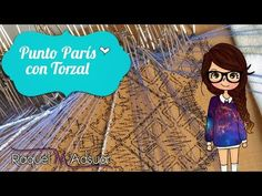 Punto París con Torzal. Bolillotutorial nº9. Proyecto de Aprendizaje. Raquel M… Bobbin Lace, Bobs, Youtube, Embroidery, Bobbin Lacemaking, Crochet Blankets, Chopsticks, Hand Fans, Learning