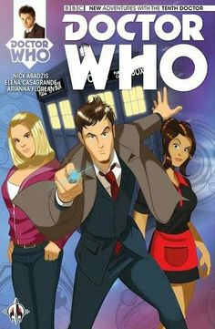UK: Print Copies Of New TITANS Comics Doctor Who Range Available Through Forbidden Planet