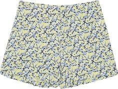 Lewis floral washed silk shorts - Equipment £210.00 added by styloko