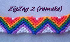Pulsera de Hilo: ZigZag2 (remake)